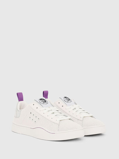 Diesel - S-CLEVER LC W, White/Pink - Sneakers - Image 2