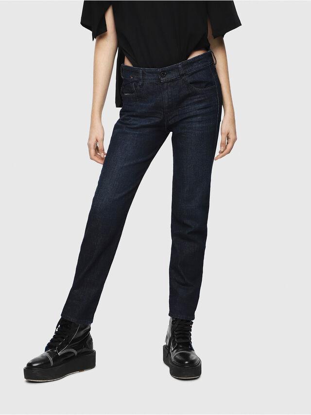 Diesel - D-Rifty 080AK, Dark Blue - Jeans - Image 1