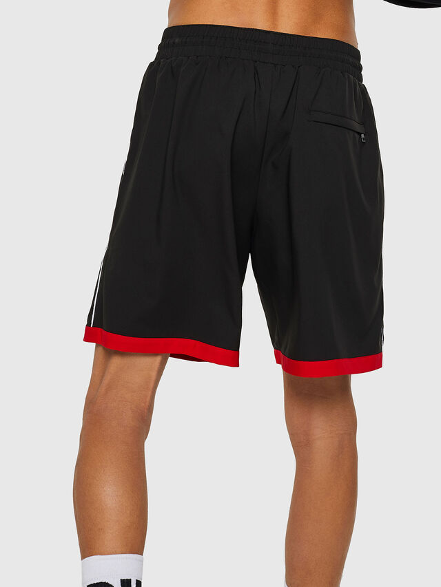 Diesel - BMBX-PLAYSOCC, Black/Red - Swim shorts - Image 2