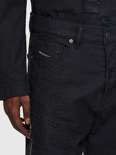 Diesel - D-VIDER JoggJeans® 0DDAX, Black/Dark grey - Jeans - Image 4