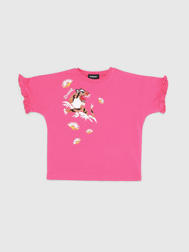 Diesel - TUINAB-R, Pink - T-shirts and Tops - Image 1