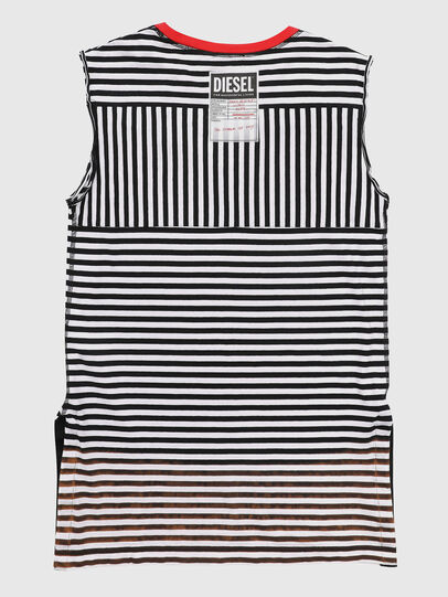Diesel - TART, Black/White - T-shirts and Tops - Image 2