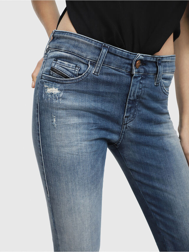 Diesel - Slandy 084MU, Medium blue - Jeans - Image 3