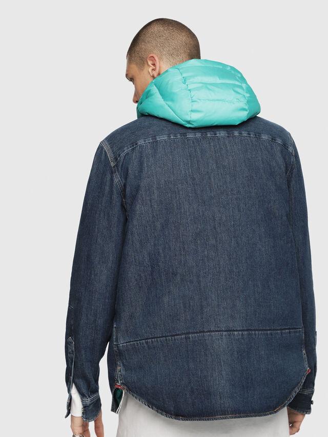 Diesel - D-FRED, Blue Jeans - Denim Shirts - Image 2