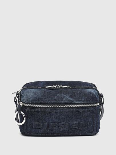 Diesel - FUTURAH II, Blue - Crossbody Bags - Image 1