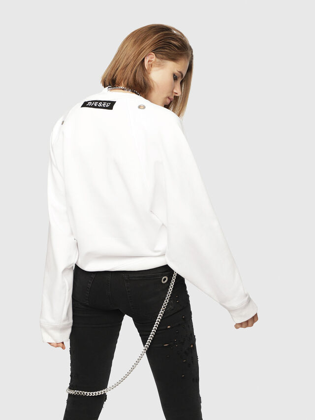 Diesel - F-HENNY-A, White - Sweaters - Image 2