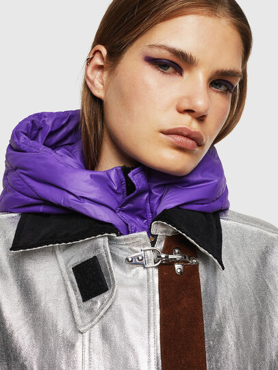 Diesel - W-GELYA, Silver - Winter Jackets - Image 6