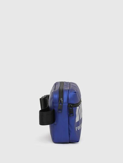 Diesel - F-BOLD BELTBAG, Blue - Belt bags - Image 3