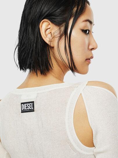 Diesel - K-SIMONA, White - Knitwear - Image 5