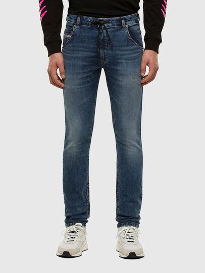 Diesel - Krooley JoggJeans 069NL, Medium blue - Jeans - Image 1