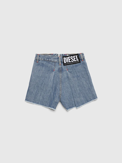 Diesel - PLARZY, Light Blue - Shorts - Image 2