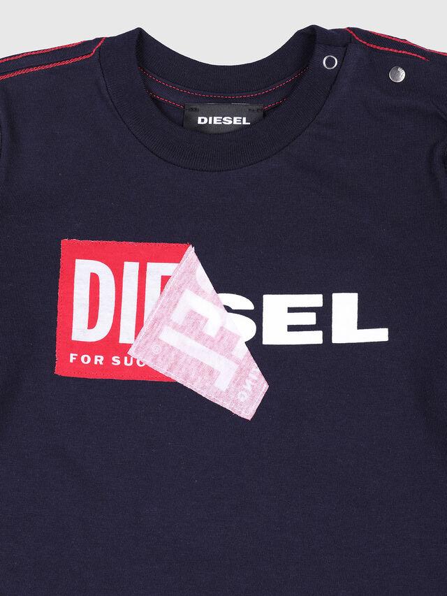 Diesel - TOQUEB, Navy Blue - T-shirts and Tops - Image 3