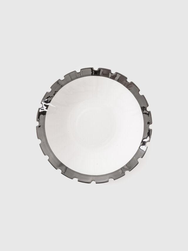 Living 10990SIL MACHINE, White - Plates - Image 1