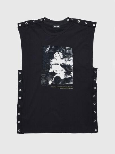 Diesel - TDESY, Black - T-shirts and Tops - Image 1