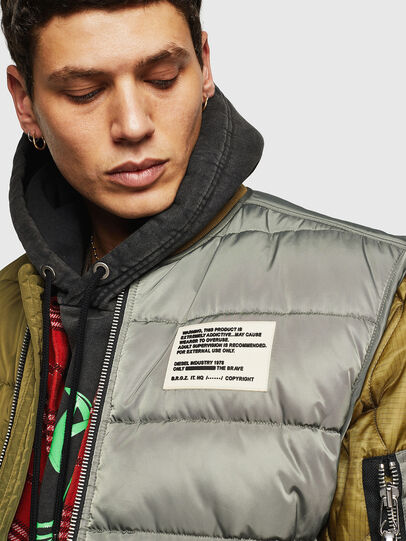 Diesel - W-KOSLOV, Military Green - Winter Jackets - Image 3