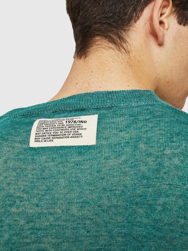 Diesel - K-SDRU, Green - Knitwear - Image 3