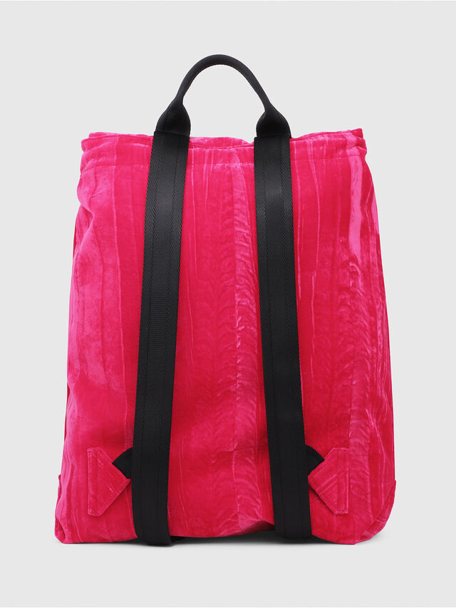Diesel - F-MUSILE BACKPACK, Pink Fluo - Backpacks - Image 2