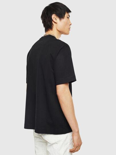 Diesel - TEORIALE-B, Black - T-Shirts - Image 2