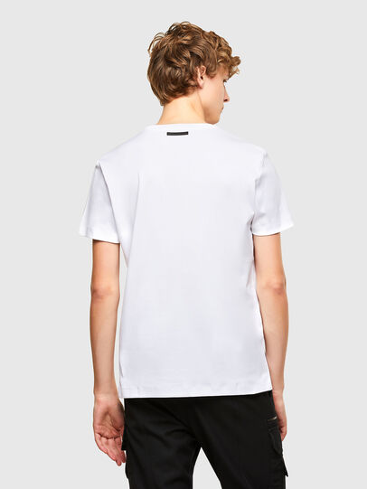 Diesel - T-IEGO, White - T-Shirts - Image 2