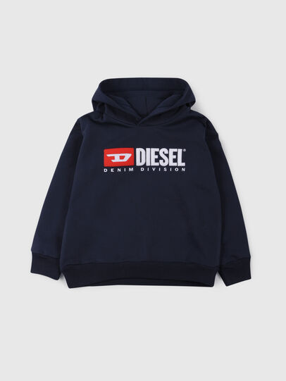 Diesel - SDIVISION OVER, Night Blue - Sweaters - Image 1