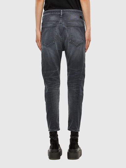 Diesel - Fayza JoggJeans 069QA, Black/Dark grey - Jeans - Image 2