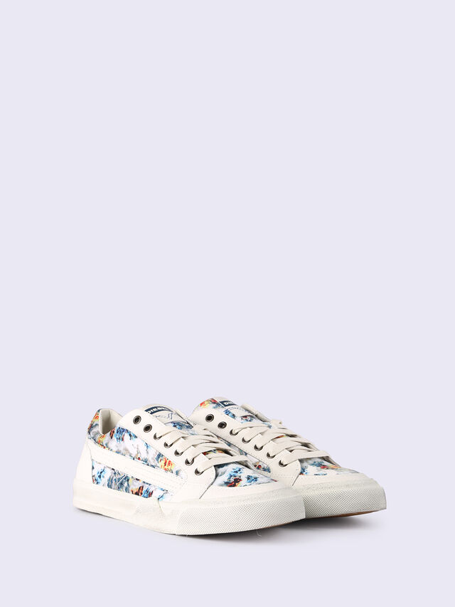 S-GRINDD LOW LACE, White
