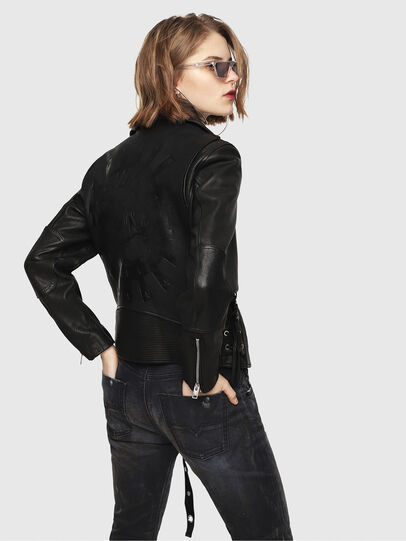 Diesel - CL-L-GOLY,  - Leather jackets - Image 2