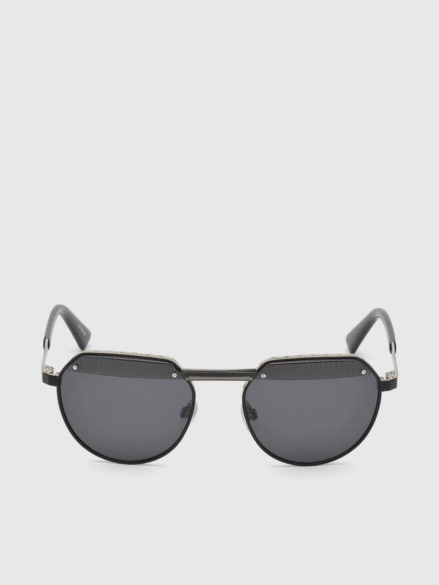 Diesel - DL0260, Black - Sunglasses - Image 1