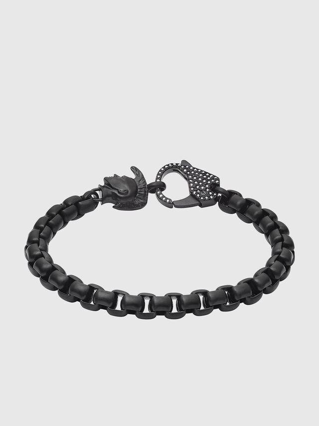 Diesel - DX1159, Black - Bracelets - Image 1