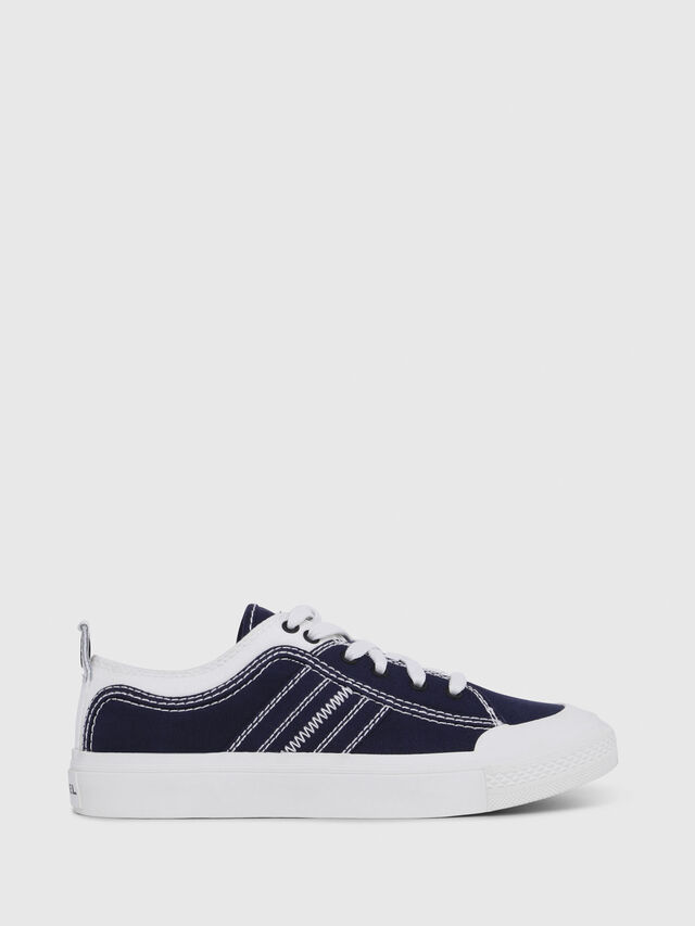 Diesel - S-ASTICO LOW LACE W, Blue/White - Sneakers - Image 1