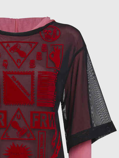 Diesel - T-LAYER, Pink - Tops - Image 3