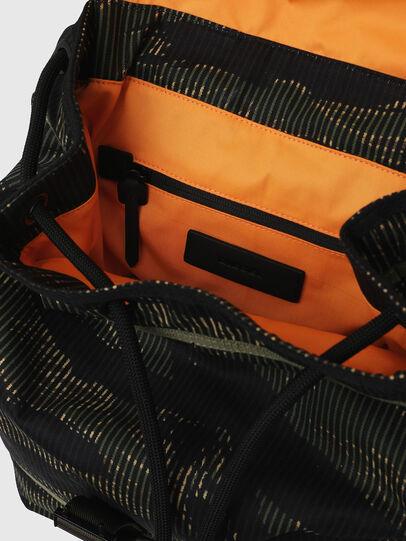 Diesel - VOLPAGO BACK, Green/Black - Backpacks - Image 7