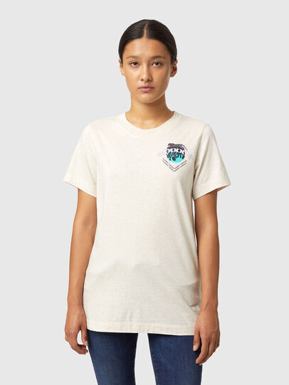 Diesel - T-LILLY-B1, White - T-Shirts - Image 1