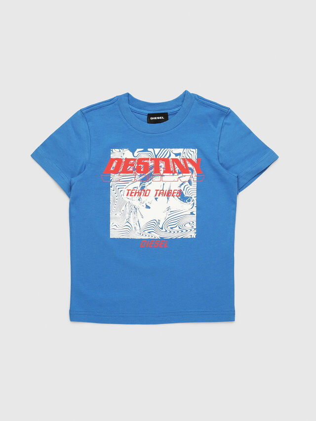 Diesel - TARRYB-R, Blue - T-shirts and Tops - Image 1