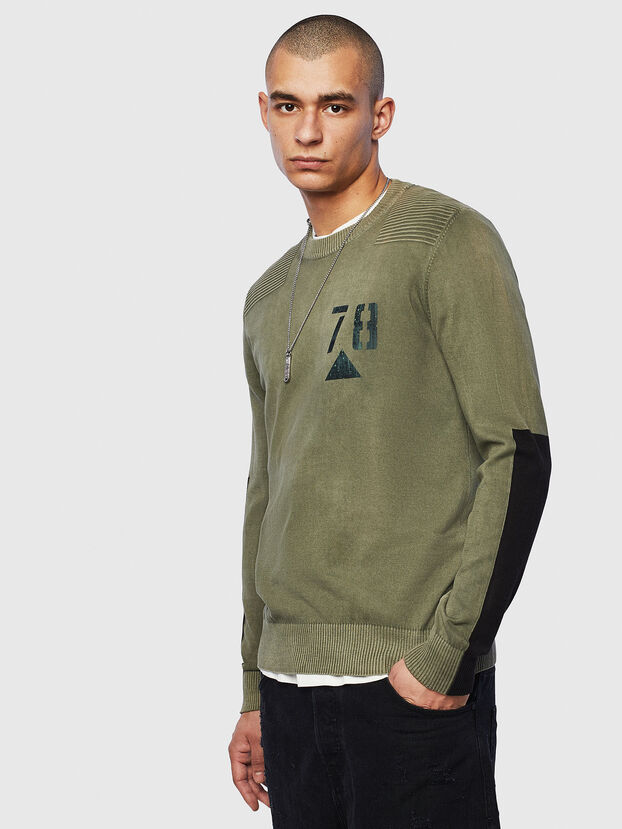 K-PACHY, Military Green - Knitwear