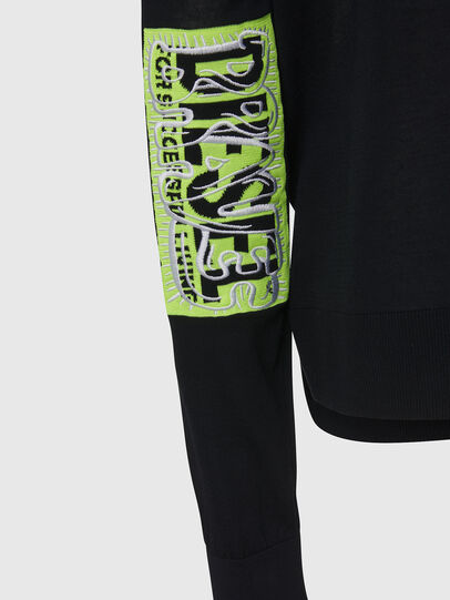 Diesel - M-PALMER, Black - Knitwear - Image 4