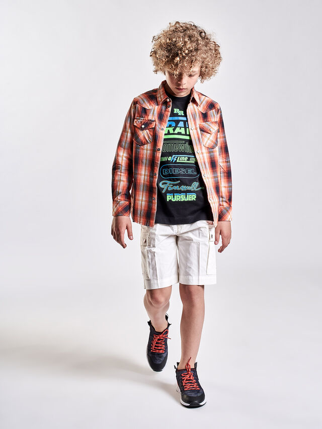 Diesel - PCLIVER, Off White - Shorts - Image 4