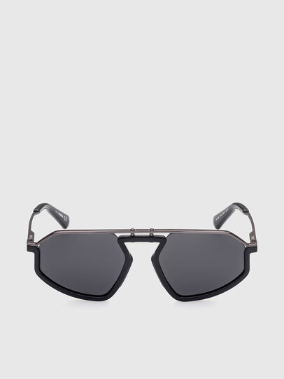 Diesel - DL0345, Black - Sunglasses - Image 1