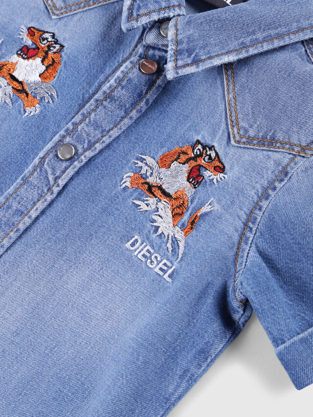 Diesel - CATTOB, Blue Jeans - Shirts - Image 3
