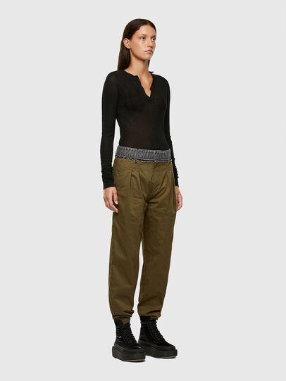 Diesel - P-BLACK, Brown - Pants - Image 5