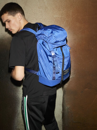 Diesel - F-SUSE BACKPCK, Blue - Backpacks - Image 6