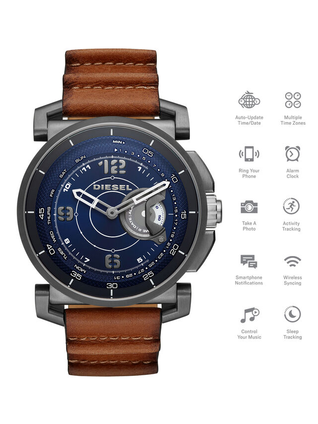 Diesel - DT1003, Brown - Smartwatches - Image 1
