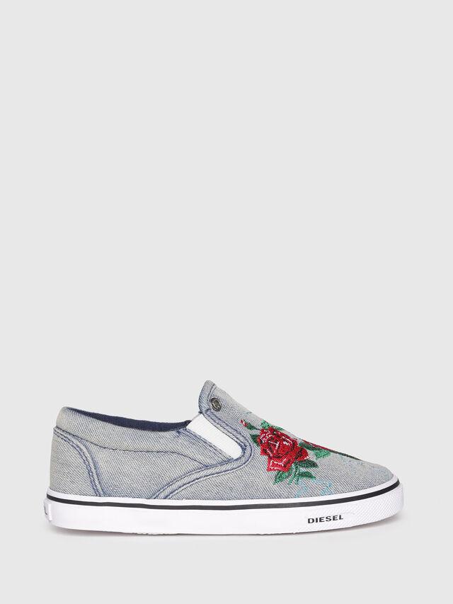 Diesel - SLIP ON 14 ROSE YO, Grey - Footwear - Image 1