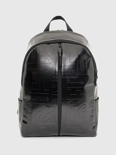 Diesel - X-BOLD BACK, Black - Backpacks - Image 1
