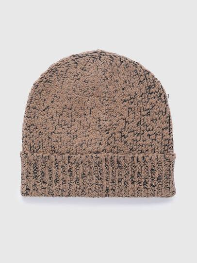 Diesel - K-GREENBAY, Brown - Knit caps - Image 2