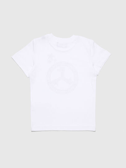 Diesel - TARTB-R, White - T-shirts and Tops - Image 2