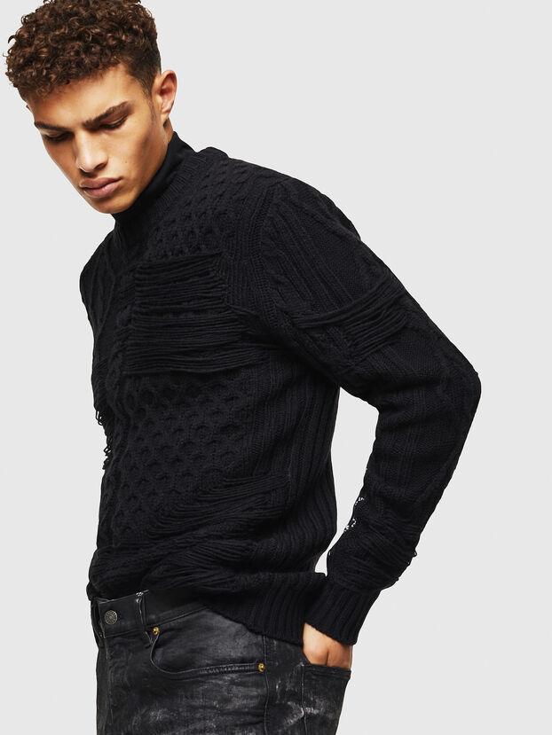 K-BRIGLY, Black - Knitwear