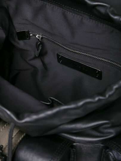 Diesel - MISS-MATCH BACKPACK, Anthracite - Backpacks - Image 4