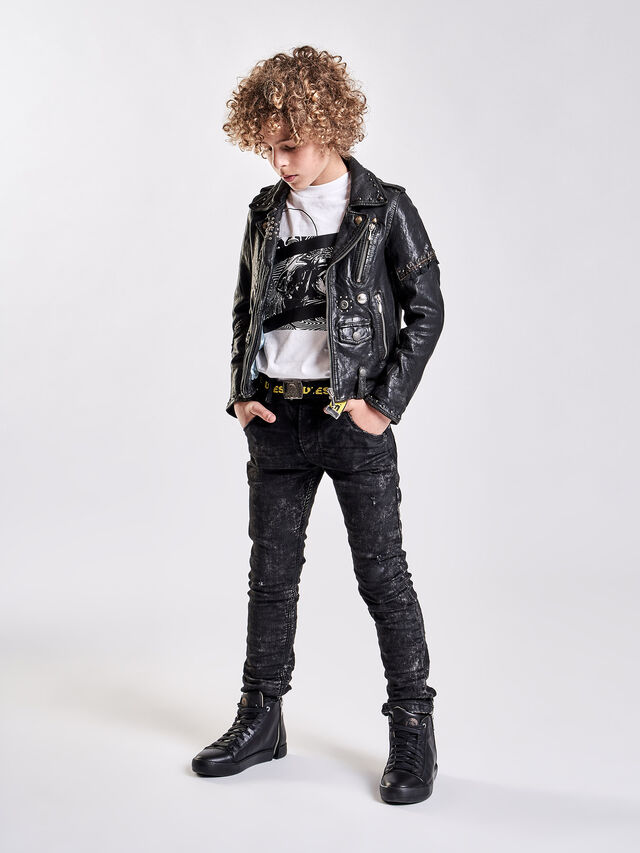 Diesel - KROOLEY-J JOGGJEANS, Black/Grey - Jeans - Image 4