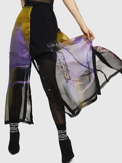 Diesel - O-POPLIA, Black - Skirts - Image 4